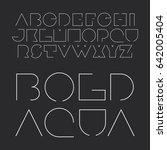 modern black and white bold...   Shutterstock .eps vector #642005404