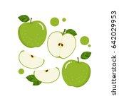 green apple vector   Shutterstock .eps vector #642029953