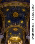 Small photo of JERUSALEM, ISRAEL - MAY 12: Interior of the Church of All Nations or Basilica of the Agony on the Mount of Olives in Jerusalem, Israel on May 12, 2017