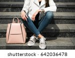 girl walking | Shutterstock . vector #642036478