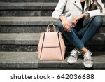 girl walking | Shutterstock . vector #642036688