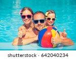 happy family having fun on...   Shutterstock . vector #642040234