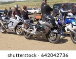 14th may 2017  motorcycles at a ... | Shutterstock . vector #642042736