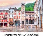 piazza marc antonio flaminio in ... | Shutterstock . vector #642056506