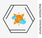 sun logo design   Shutterstock .eps vector #642061948