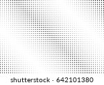 abstract halftone dotted... | Shutterstock .eps vector #642101380