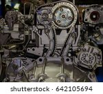 Car Engine Closeup  Part Of Ca...
