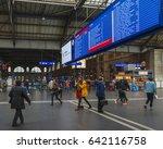 zurich  switzerland   april... | Shutterstock . vector #642116758