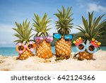 family of funny attractive... | Shutterstock . vector #642124366