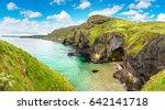 carrick a rede  causeway coast... | Shutterstock . vector #642141718