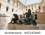 paris  france   may 11  2014 ... | Shutterstock . vector #642142660