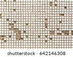 Old White Mosaic Tiles