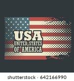 united states design | Shutterstock .eps vector #642166990