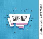 startup. retro design element...   Shutterstock .eps vector #642171808