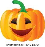 halloween pumpkin | Shutterstock .eps vector #6421870