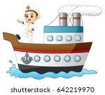 vector illustration of cartoon... | Shutterstock .eps vector #642219970