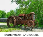 Old Rusty Vintage Farm Tractor