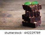 Homemade Dark Chocolate Fudge...