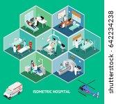medicine hospital concept... | Shutterstock .eps vector #642234238