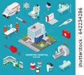 medicine hospital concept... | Shutterstock .eps vector #642234286
