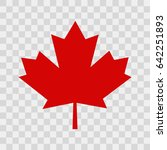 canada leaf | Shutterstock .eps vector #642251893