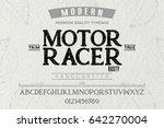 font.alphabet.script.typeface... | Shutterstock .eps vector #642270004