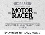 font.alphabet.script.typeface... | Shutterstock .eps vector #642270013