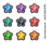 cartoon vector star shaped...