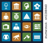 view icons set. set of 16 view... | Shutterstock .eps vector #642288460
