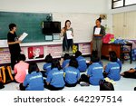 korat  thailand   nov. 25. 2015 ... | Shutterstock . vector #642297514