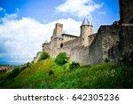 fortress carcassonne | Shutterstock . vector #642305236