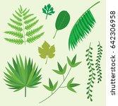 Green Plants Tropical Palm...