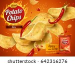 Potato Chips Advertisement ...