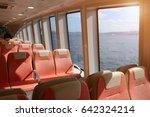 ferry over bosporus in istanbul ... | Shutterstock . vector #642324214