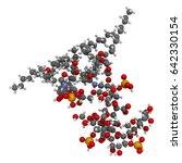 lipopolysaccharide  lps  lipid... | Shutterstock . vector #642330154