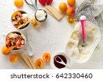 tasty appetizing ingredients... | Shutterstock . vector #642330460