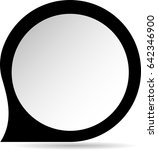pointer sign.vector... | Shutterstock .eps vector #642346900