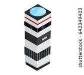 camera telephoto lens design in ... | Shutterstock .eps vector #642349423