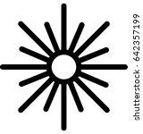 oscillatory vector icon | Shutterstock .eps vector #642357199