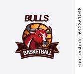 red bull club basketball team... | Shutterstock .eps vector #642361048