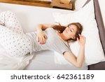 sleep dream rest relax recovery ... | Shutterstock . vector #642361189
