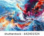 fantasy clouds. bright artistic ... | Shutterstock . vector #642401524