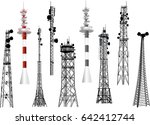 illustration with set of... | Shutterstock .eps vector #642412744