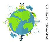 ecological concept | Shutterstock .eps vector #642413416