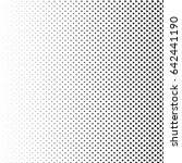 vector abstract halftone black... | Shutterstock .eps vector #642441190