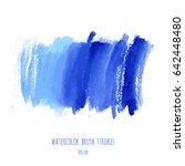 vector turquoise blue  indigo... | Shutterstock .eps vector #642448480