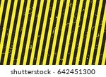 line yellow and black color... | Shutterstock .eps vector #642451300
