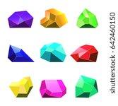multicolor crystals white...