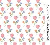 spring flowers background image | Shutterstock .eps vector #642467149