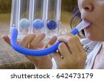 triballs spirometer threeflow... | Shutterstock . vector #642473179